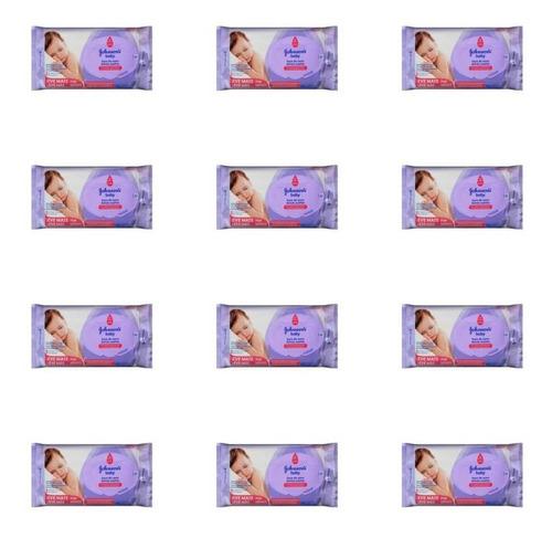Johnsons Hora Do Sono Lenços Umedecidos C/97 (kit C/12)