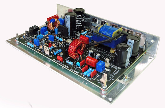 Amplificador Dclass Digital 500 Watts Rms + Fonte Completa