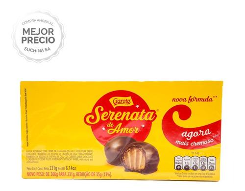 Bombones Serenata De Amor 14 Unidades 231grs Suchina S.a
