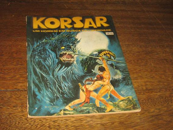 Korsar Formato Album Ano:1980 Ebal Desenhos Esteban Maroto