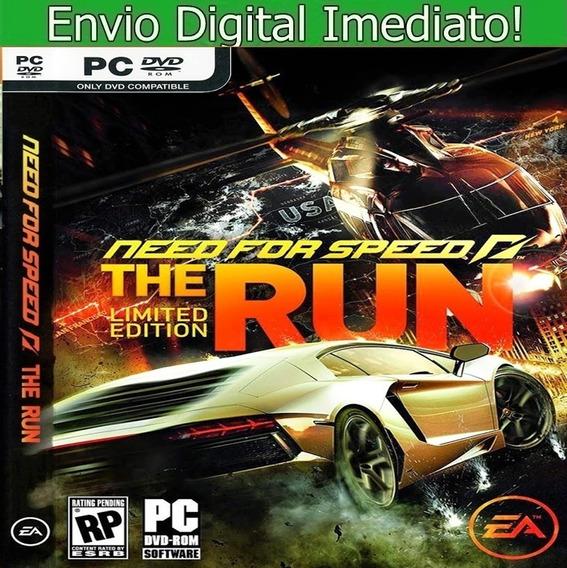 Need For Speed The Run Pc Hd Português Envio Imediato.