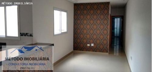 Apartamento Sem Condomínio Para Venda Em Santo André, Vila Guarani, 2 Dormitórios, 1 Suíte, 1 Banheiro, 1 Vaga - 12244_1-834716