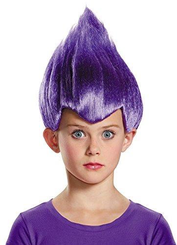 Pelucas,disfraz Púrpura Raro Del Niño Peluca, Un Tamaño ..