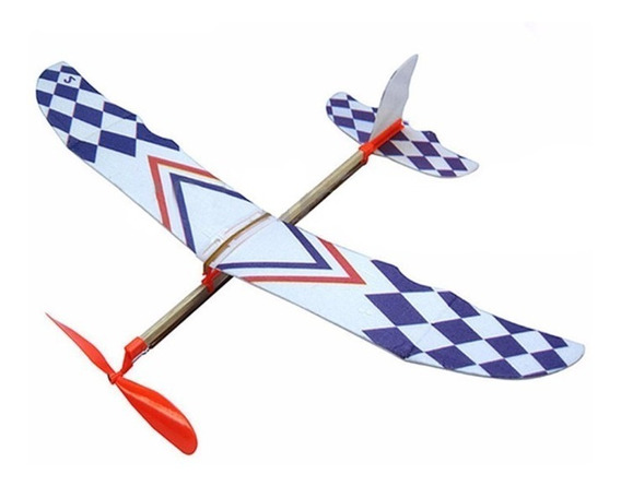 Avião Movido A Elástico Planador Ornitóptero Pronta Entrega