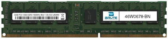 46 W0678 Ibm Compatibles 32 Gb Pc3 12800 Ddr3 1600 Mhz