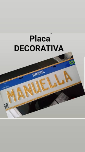 Placas Decorativas Mercosul