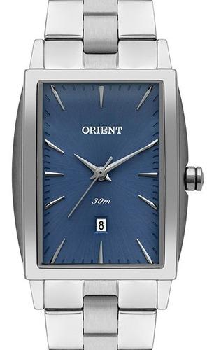 Relógio Orient Feminino Prata Quadrado Lbss1030 A1sx