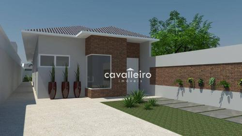 Imagem 1 de 19 de Casa Com 3 Dormitórios À Venda, 150 M² - Jardim Atlântico Central (itaipuaçu) - Maricá/rj - Ca4468