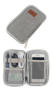 Bolsa Estuche Organizador P/ Celular Cables Smartphone