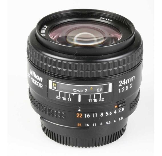 Objetiva Nikon Af 24mm F2.8d