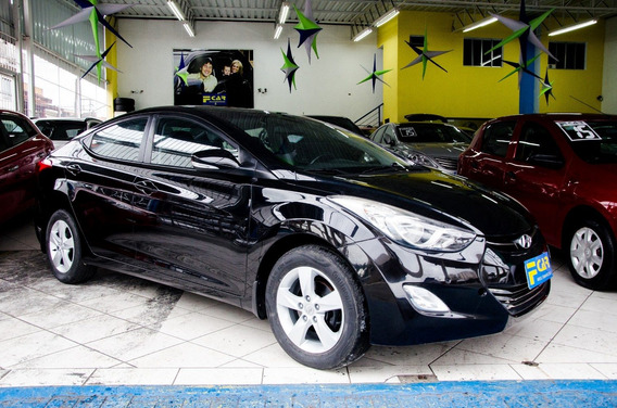 Hyundai Elantra 2.0 2013 Top De Linha C/teto,revisado,perici