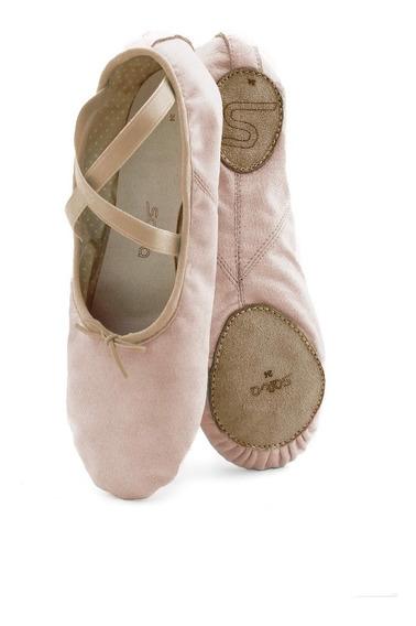 Zapatillas Ballet Para Niña, Medias Puntas Suaves, Veganas
