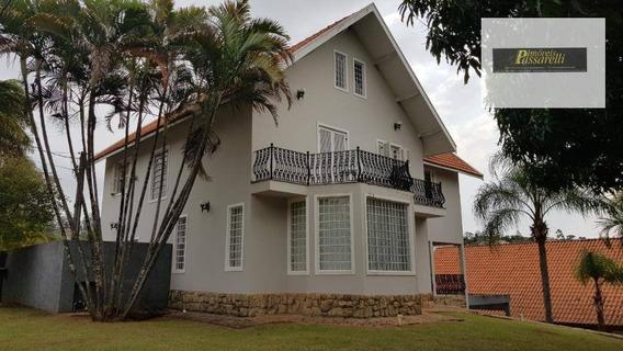 Casa Com 4 Dormitórios Para Alugar, 350 M² Por R$ 5.500/mês - Vista Alegre - Vinhedo/sp - Ca2382