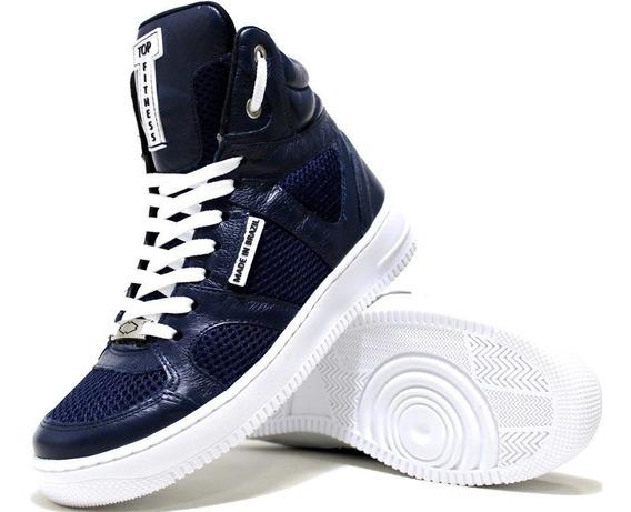 Bota Botinha Sneakers Tenis C/ Alto Academia Top Fit Treinos