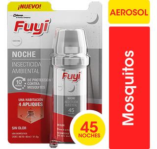 Insecticida Ambiental Fuyi Aerosol Sin Olor X 45 Noches
