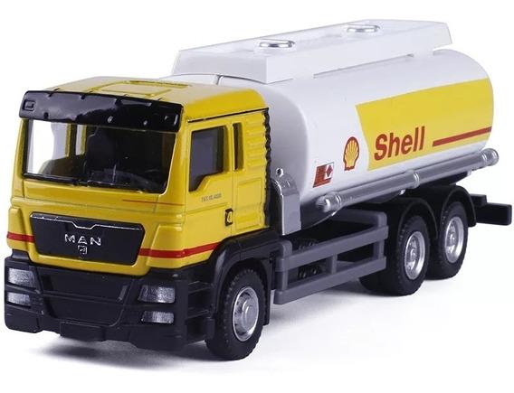 Miniatura Caminhão Shell Escala 1:64