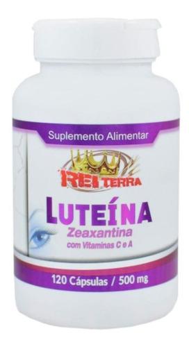 Imagem 1 de 2 de Luteina + Zeaxantina + Vitamina C + Vitamina A 120 Caps
