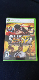 Super Street Fighter 4 - Xbox 360 - Semi-novo - Original