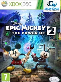 Epic Mickey The Power Of Two 2, Midia Digital/ Xbox360