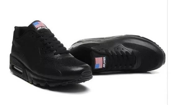 Tênis Nike Air Max 90 Independence Day Eua Modelos Masculinos
