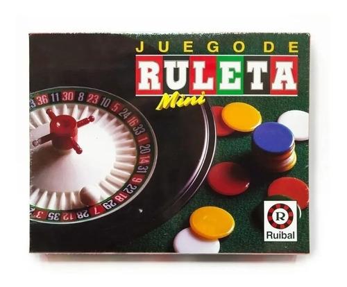 Imagen 1 de 9 de Ruleta Mini Ruibal Juego De Mesa 1352