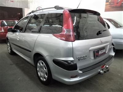 Peugeot 206 Presence Sw 1.4 Flex 2006 Completa + Cd + Alarme
