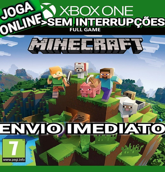 Minecraft Xbox One Joga Online Digital Original