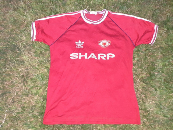 Camiseta adidas Manchester United Decada 80