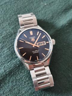 Reloj Tag Heuer Carrera Calibre 5 Automatico Day Date