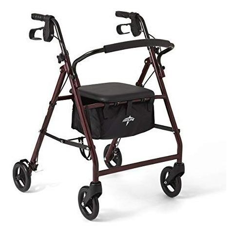 Andadera Para Adulto Rollator Walker Capacidad 160 Kg 12 Msi