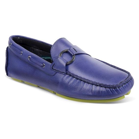 Sapato Masculino Driver Sandro Moscoloni New Caribe Azul