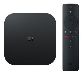 Xiaomi Mi Box S Android Tv Box 4k Real Netflix Y Youtube