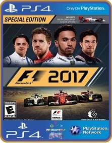 Ps4 F1 2017 Psn Original 1 Mídia Digital