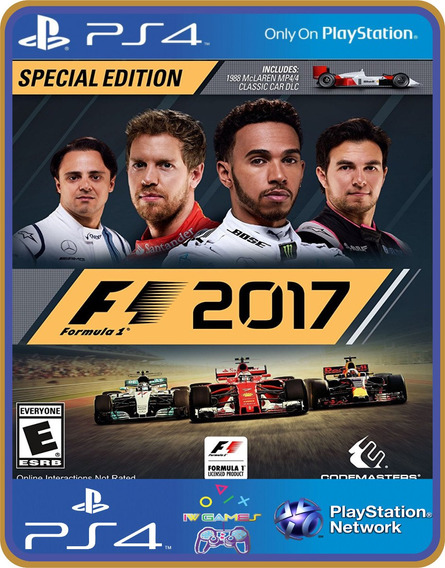 Ps4 F1 2017 Psn Original 1 Mídia Digital