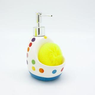 Dispenser Jabón Dots Azul Cocina