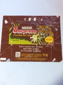 Embalagem Chocolate Surpresa Sertões