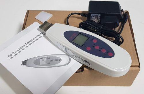 Peling Ultrasonico Portatil Lcd Limpeza Pele Cravo Espinha