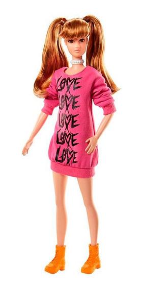 Boneca Barbie Fashionistas 79 Wear Your Heart Tall Fbr37 - M