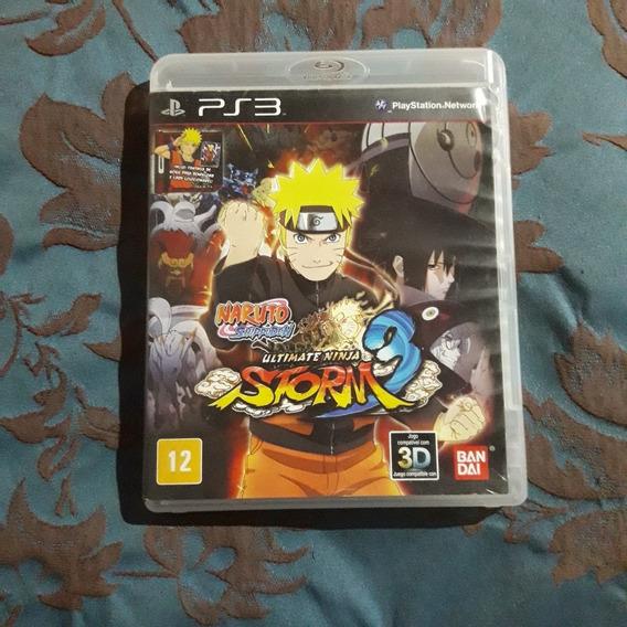 Naruto Shippuden Ultmate Ninja Storm 3 - Mídia Física Ps3