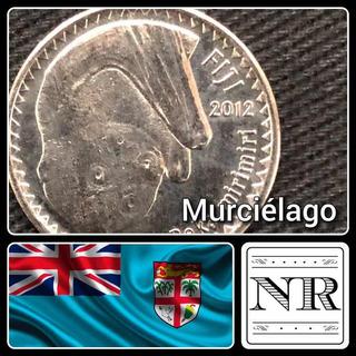 Fiji - 10 Cents - Año 2012 - Km # 333 - Murciélago
