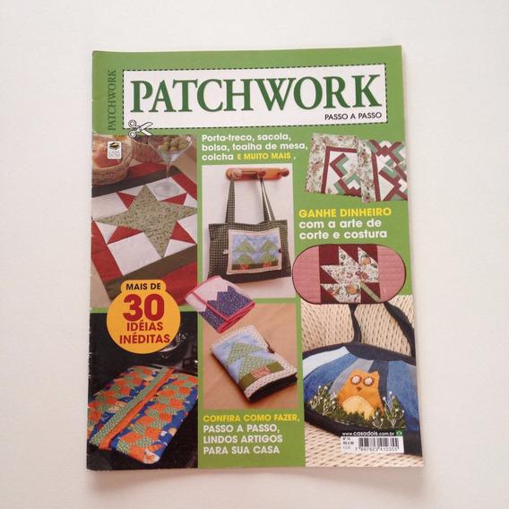 Revista Patchwork Porta-treco Sacola Bolsa Colcha N°14 Cc460