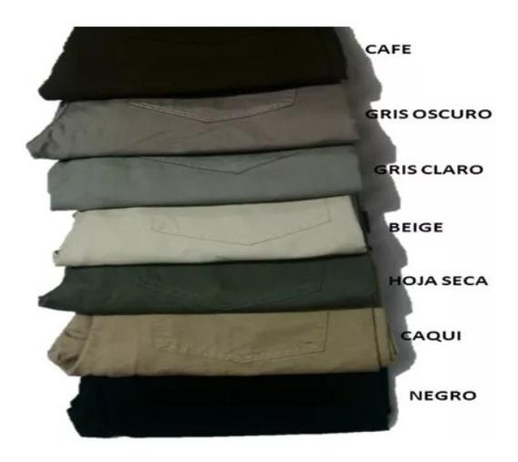 Pantalones Promocion En Dril Rígido Para Hombre X 3 Unidades