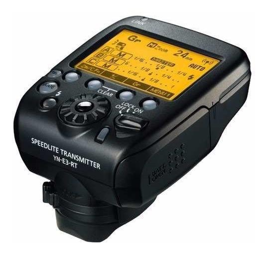 Radio Flash Transmissor Yongnuo Yn-e3-rt Canon E3 Rt 600exrt