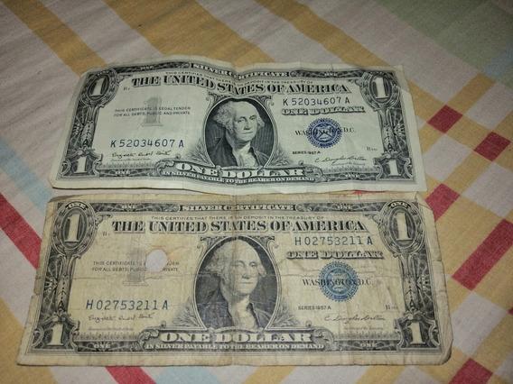 Billete Antiguo Sertifivado De Plata1995 Un Dolar