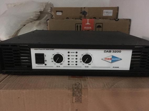 Potência Com 3200 Watts Rms - Mea Audio Dab3200