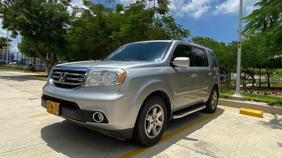 Honda Pilot Ex L At Modelo 2015 Color Plata 8 Puestos 4x4