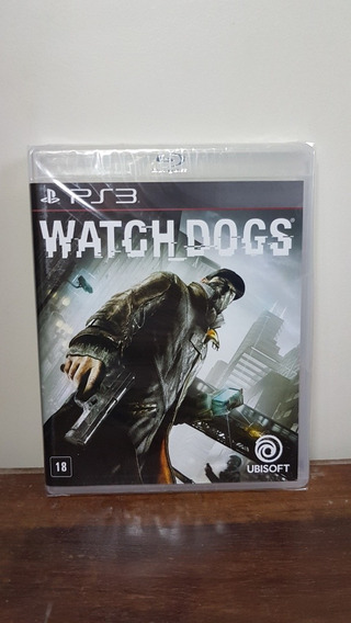 Watch Dogs Ps3 Novo Lacrado Midia Fisica