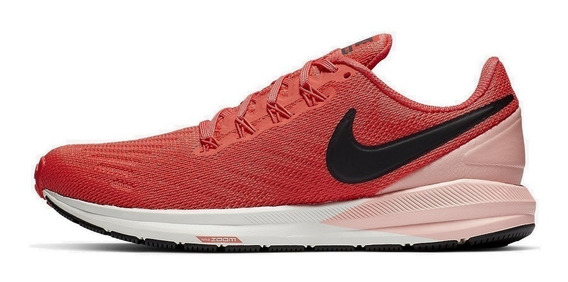 Tênis Nike Air Zoom Structure 22 Feminino - Corrida Treino Academia Caminhada - Aa1640 800