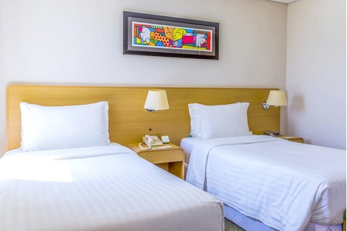 Flat Holiday Inn, Na Região Central, Prox Ao Anhembi E Ao Sambódromo - Sf30120