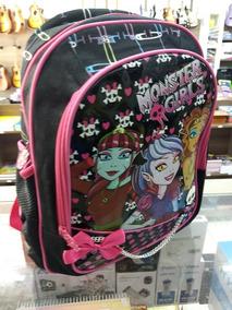 Super Mochila Monster High - Monster Girl Lançamento 2019